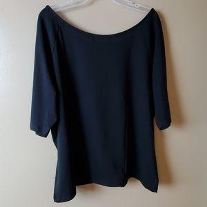 Tops - ⬇️🔥SALE🔥Ellos Womens top black color size 1x